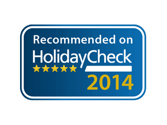 "Panoramic Hotel bei der Holidaycheck Quality Selection 2015 mit ""sehr gut"" bewertet"
