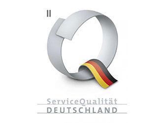 """Das Panoramic Hotel wurde mit dem Zertifikat """"ServiceQualität Deutschland Stufe II"""" im Juli 2015 ausgezeichnet"""