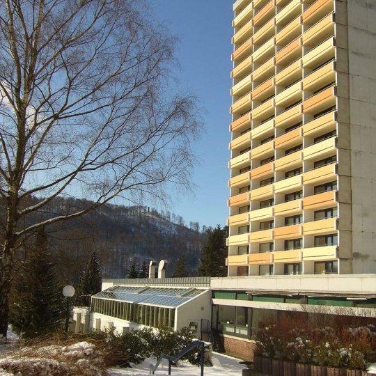 Außenansicht Panoramic Haus 1 mit Kummelberg