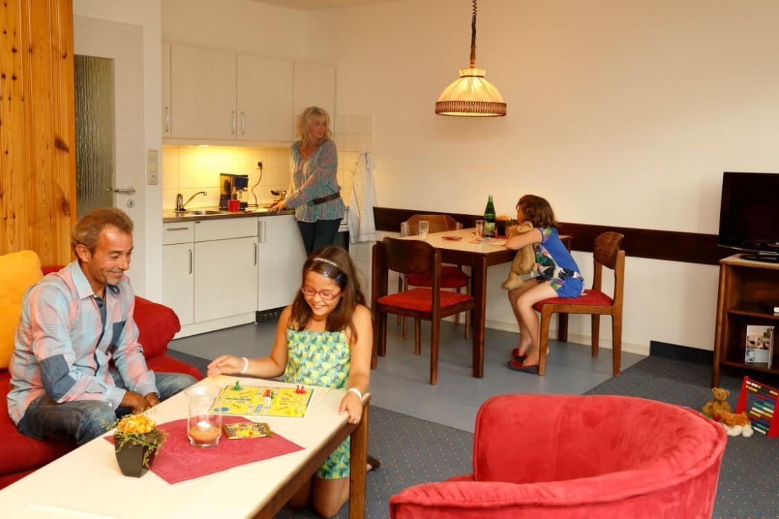 Urlaub mit Kindern im Apartment Typ A im Harz