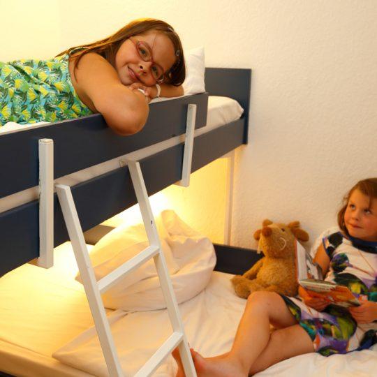 Kinderschlafzimmer im Standard Apartment Typ A - Harz Apartment Hotel Panoramic
