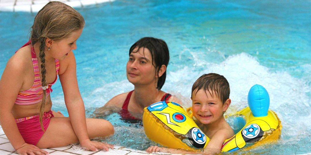 Frau mit Kindern im Vitamar Bad Lauterberg