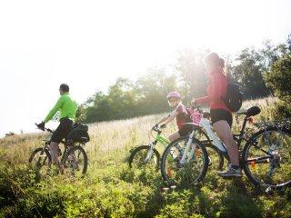Fahrradfahren im Harz mit der Familie