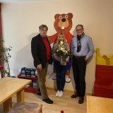 Frau Böttcher feiert 10-jähriges  Dienstjubiläum