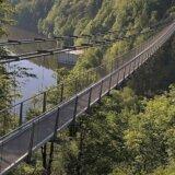 Titan RT: Hängebrücke im Harz