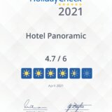 """Harz-Hotel Panoramic ist """"Recommended on HolidayCheck 2021"""""""